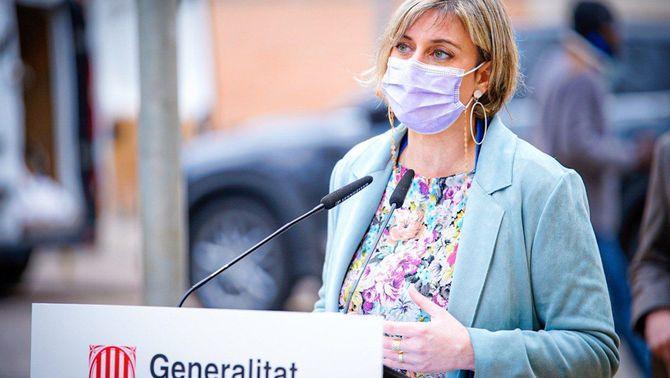 Alba Vergés serà la nova vicepresidenta del Parlament, en substitució d'Anna Caula