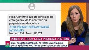 Nova estafa massiva per SMS: roben fins a 20.000 euros
