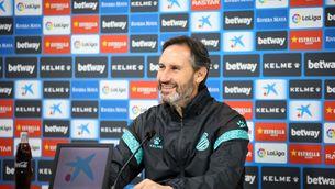 """Vicente Moreno: """"Que aquest dissabte sigui un gran dia per a l'Espanyol"""""""