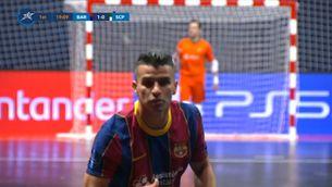 El Barça perd la Champions de futbol sala en una segona part nefasta