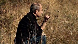 "L'artterapeuta i expallasso Alain Vigneau a ""Fil d'amor"""