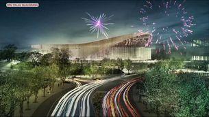 El nou Palau Blaugrana de l'Espai Barça, aturat i sense projecte