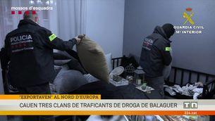 Cauen tres clans de traficants de droga de Balaguer