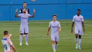 El Barça supera el Girona per 3-1 amb un gol de Memphis