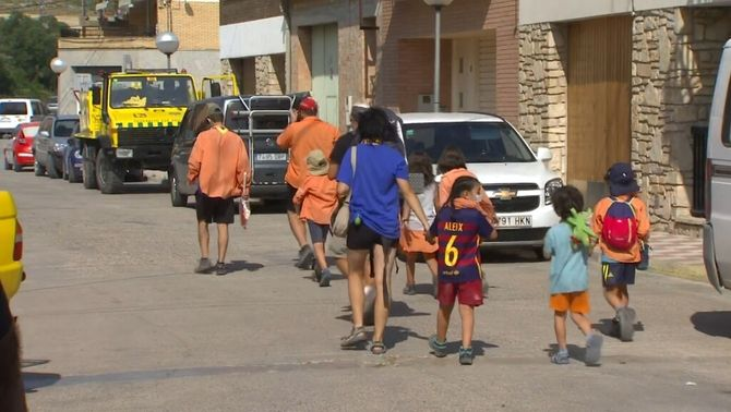 Uns nens d'una casa de colònies van haver de ser evacuats ahir per precaució