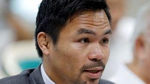 El boxejador Manny Pacquiao anuncia la seva candidatura a president de les Filipines