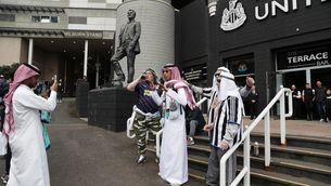 El Newcastle demana als seus aficionats que deixin de disfressar-se d'àrabs