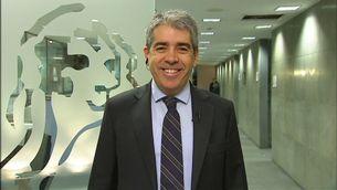 El portaveu de Democràcia i Llibertat, Francesc Homs