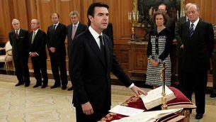 Soria, el dia que va jurar el càrrec de ministre, a finals del 2011 (Reuters)