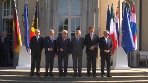 Ministres d'Exteriors dels socis fundadors de la llavor de la UE