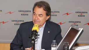 """El president de Convergència Democràtica, Artur Mas, a """"El matí de Catalunya Ràdio"""""""