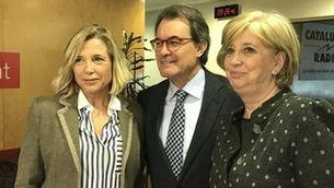 Joana Ortega, Artur Mas i Irene Rigau