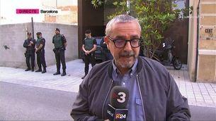 Detingut l'expresident del Barça Sandro Rosell