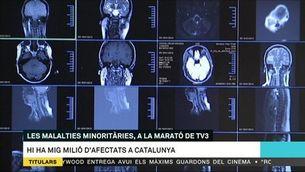 Les malalties minoritàries, a La Marató de TV3