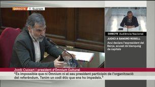 """Cuixart: """"L'1-O és l'exercici de desobediència civil més important fet a Europa"""""""