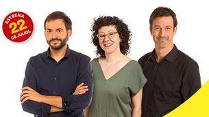 Albert Segura, Montse Virgili i Adam Martín, el trident de l'estiu a Catalunya Ràdio
