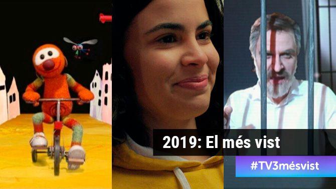 Rànquing dels 5 programes més vistos a la carta el 2019