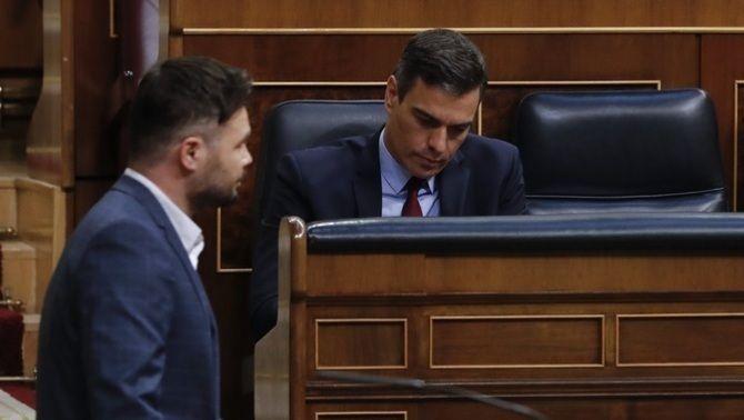 Pablo Iglesias referma que la derogació de la reforma laboral és íntegra: