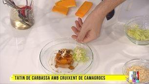 Tatin de carbassa amb cruixent de camagrocs, amb Mirko Carturan