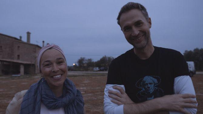 """La Beth amb el Dani Jiménez, a l'""""Efecte wow""""."""