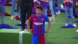 El Barça presenta la nova equipació