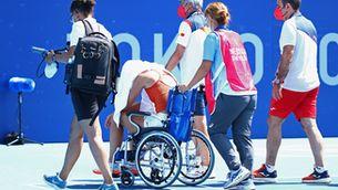 Paula Badosa abandona per un cop de calor i diu adeu als Jocs