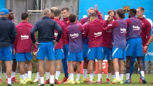 Eric Garcia desitja que Ansu Fati torni el més aviat possible a jugar un partit