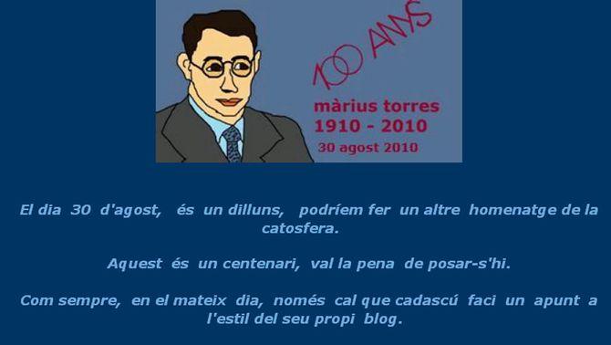 Màrius Torres és considerat un dels poetes de referència del segle XX. (Foto: blog Col·lecció de moments)