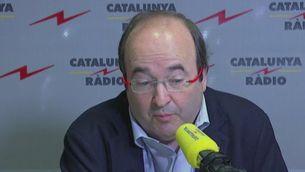 Iceta parla a Catalunya Ràdio sobre les negociacions