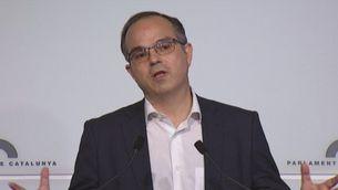 Reaccions dels grups parlamentaris catalans