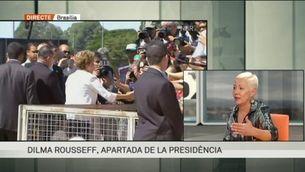 """Experta del CIDOB: """"Més de la meitat"""" dels  senadors que han destituït Rousseff, esquitxats per corrupció"""