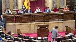 Esquerra i el PDeCAT voten diferent al Parlament pel cas Palau