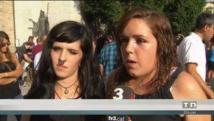 Emotiu acte contra el terrorisme a Ripoll amb la germana dels Oukabir