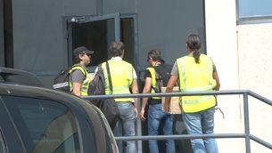 La Guàrdia Civil inspecciona durant tres hores la impremta de Constantí per l'1-O