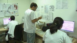 Sanitat i administració catalana, en serveis mínims