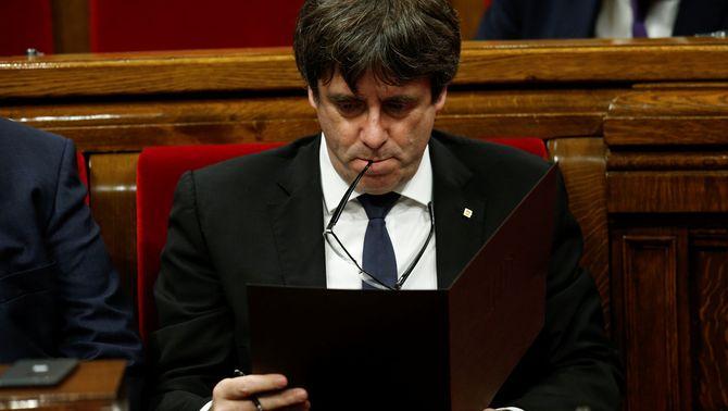 """Puigdemont no respondrà amb un """"sí"""" o un """"no"""" com exigeix el requeriment de Rajoy"""