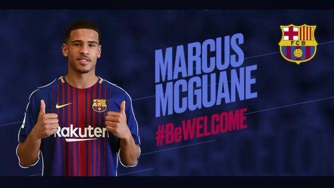 El Barça B arriba a un acord amb l'Arsenal per al fitxatge de Marcus McGuane, mentre Kaptoum marxa al Betis