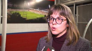 """Marta Armengol: """"S'ha acordat retirar l'equip de veterans"""""""