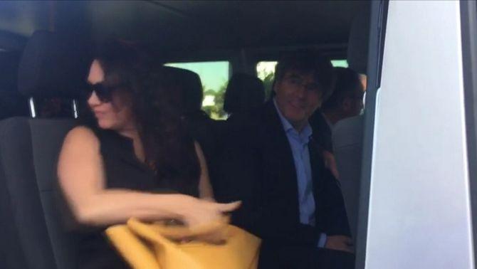 Puigdemont i Comín desisteixen d'anar a Estrasburg i es queden a Alemanya