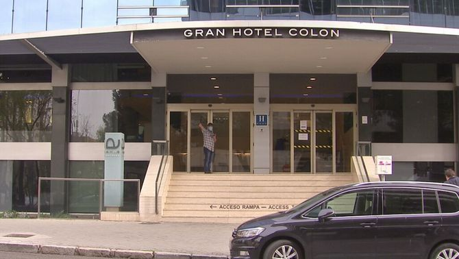 Madrid habilita els primers hotels com a hospitals per a malalts de la Covid-19