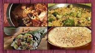 Quatre receptes amb arròs
