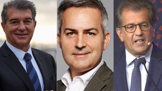 El Barça proclama Joan Laporta, Víctor Font i Toni Freixa com a candidats a la presidència del Barça