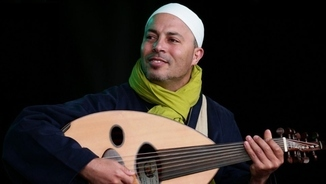 Imatge de:L'outista i cantant tunisià Dhafer Youssef