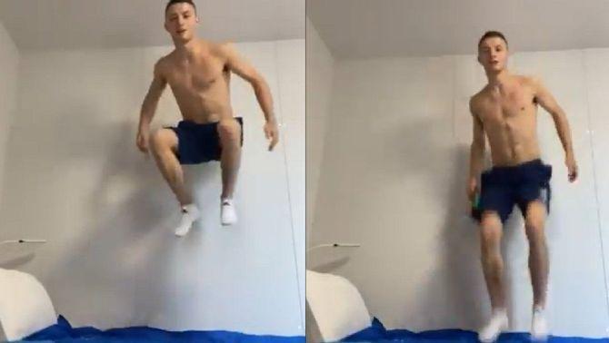 """Un atleta posa a prova els """"llits antisexe"""" de la Vila Olímpica de Tòquio"""