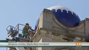 Polèmica restauració de les cúpules del Teatre Jardí a Figueres