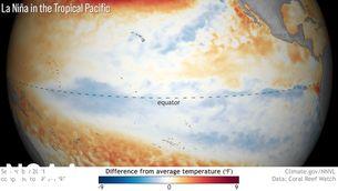 La NOAA anuncia un hivern marcat pel fenomen climàtic de la Niña