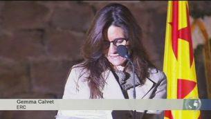 """Calvet: """"El president Companys ens porta a creure en el bé comú i en la llibertat de Catalunya"""""""