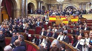 El Parlament comença el procés polític cap a l'estat propi