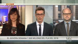 El govern demana 7.500 milions del FLA del 2016