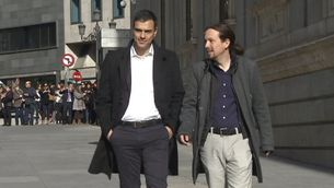 Sánchez i Iglesias, abans de la reunió de dimarts